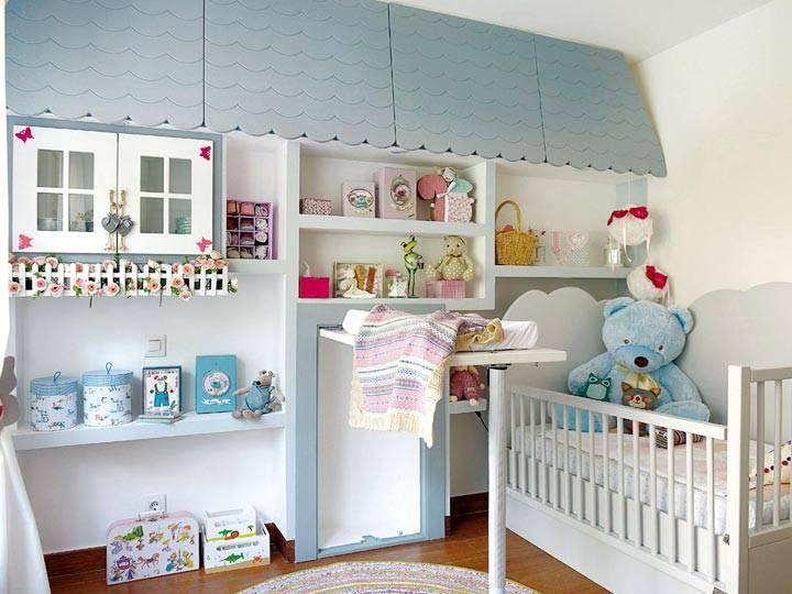 Дизайн интерьера детской комнаты часть1