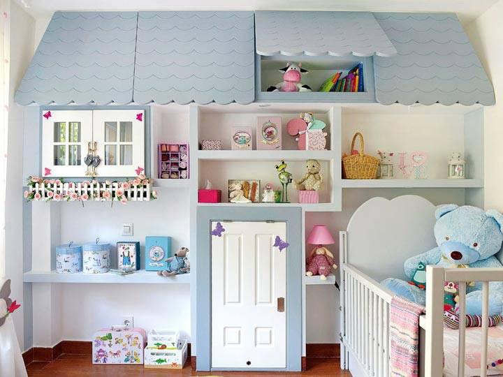 Детали интерьера для детской комнаты своими руками