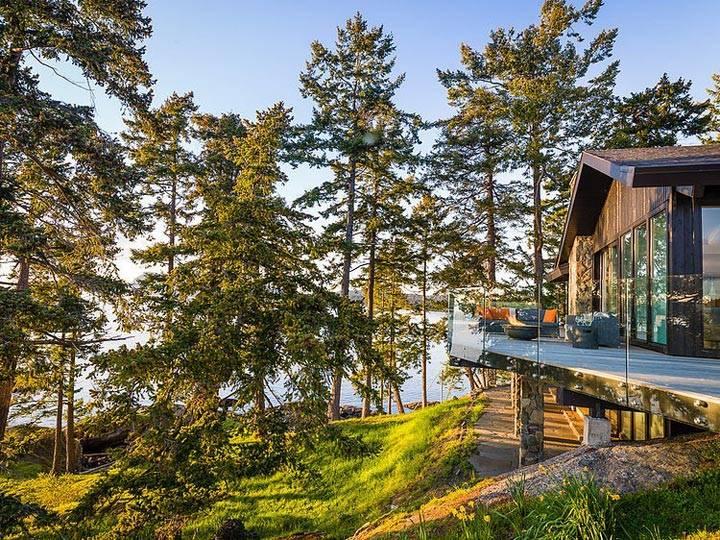 красивый дом для отдыха