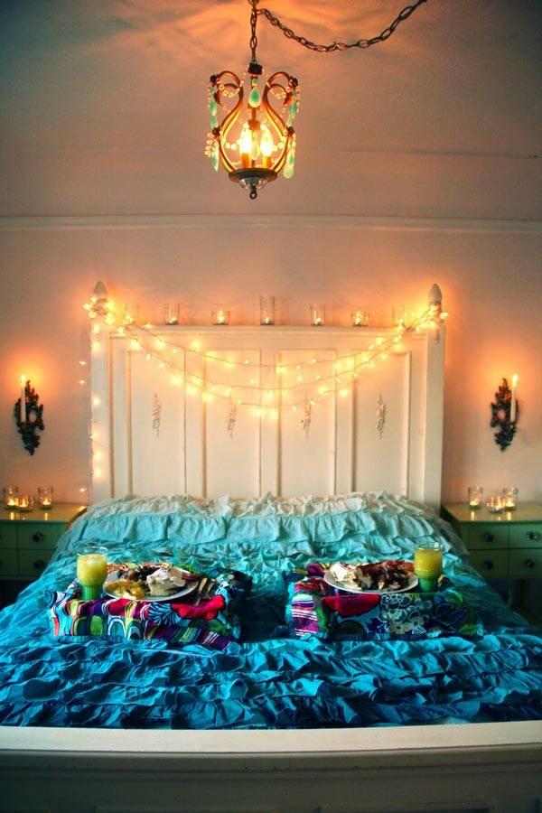 украшение спальни фото