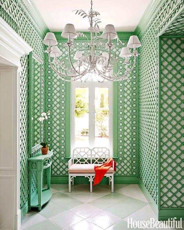 красочный дизайн интерьера