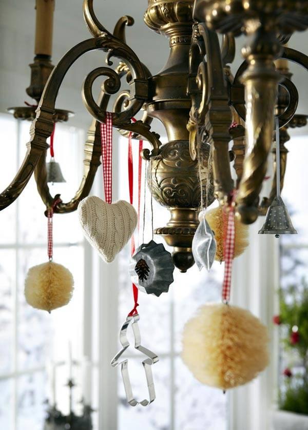 сделать новогодние украшения