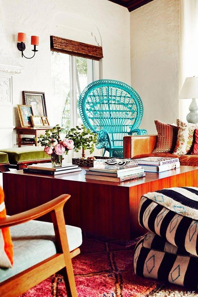 дизайн интерьера дома в америке
