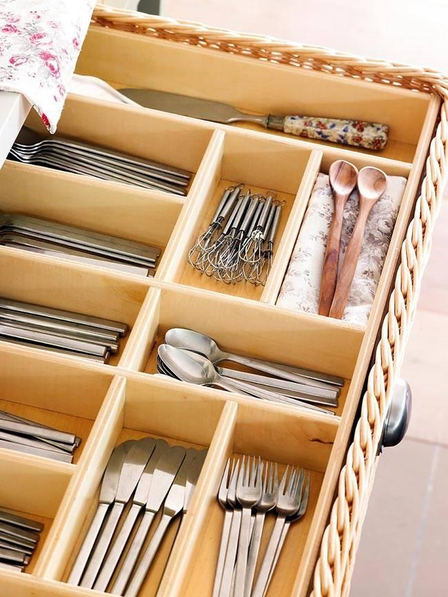 системы хранения на кухне, фото