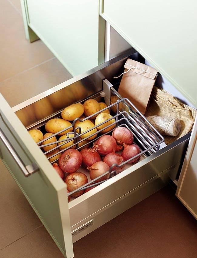 грамонтное хранение на кухне