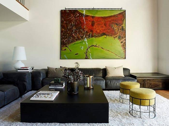 Дизайн интерьера дома в Сиднее с террасой