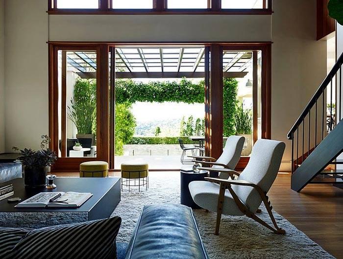 дизайн дома с террасой