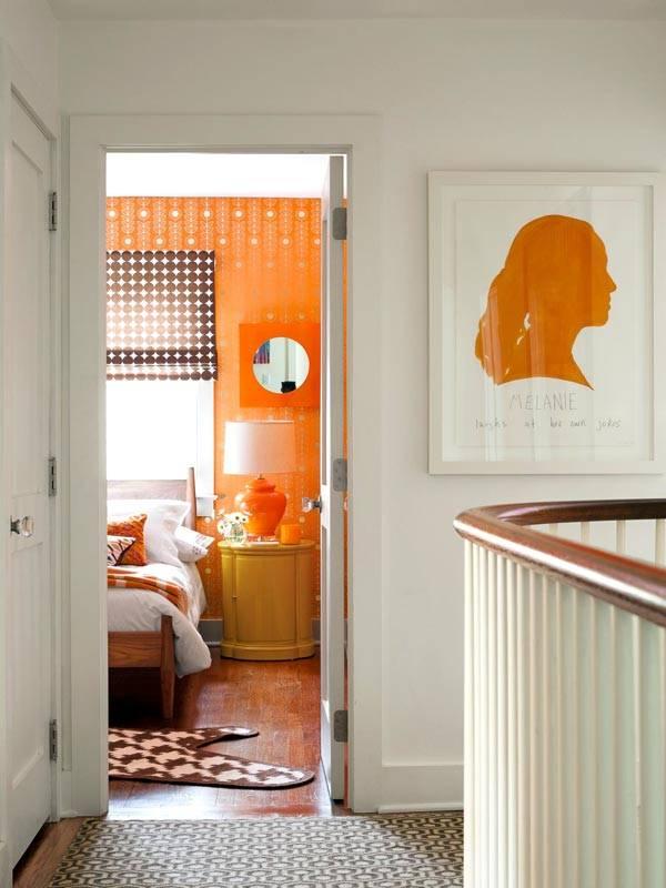Пестрый интерьер дома дизайнера Karen Bow, фото