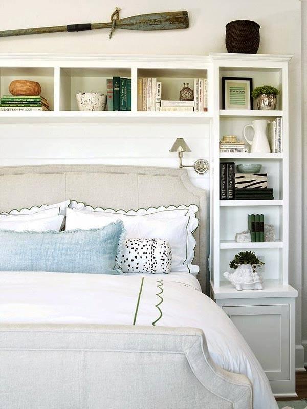 дизайн спальни в доме на побережье