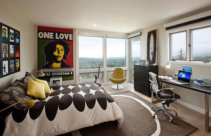 Идеальный интерьер комнаты для подростка, фото