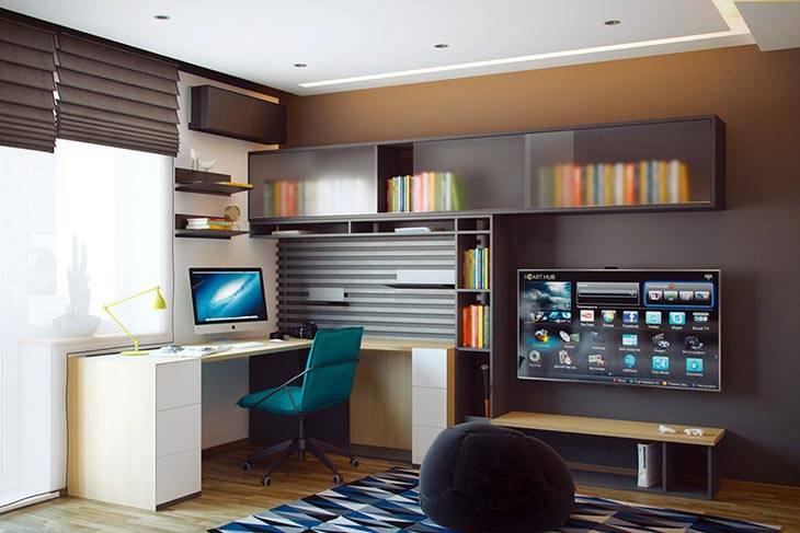 Дизайн интерьера комнате подростка