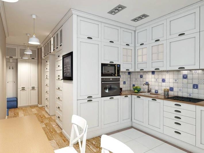 белый цвет в дизайне интерьера квартиры