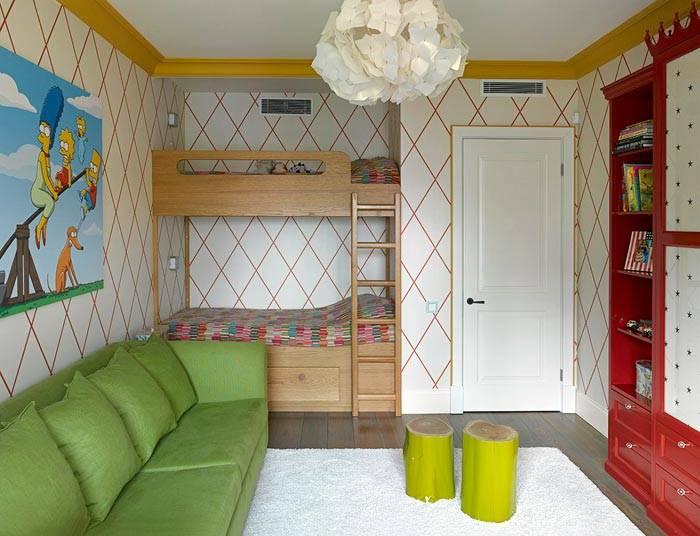 Дизайн квартир с детской 40 кв.м
