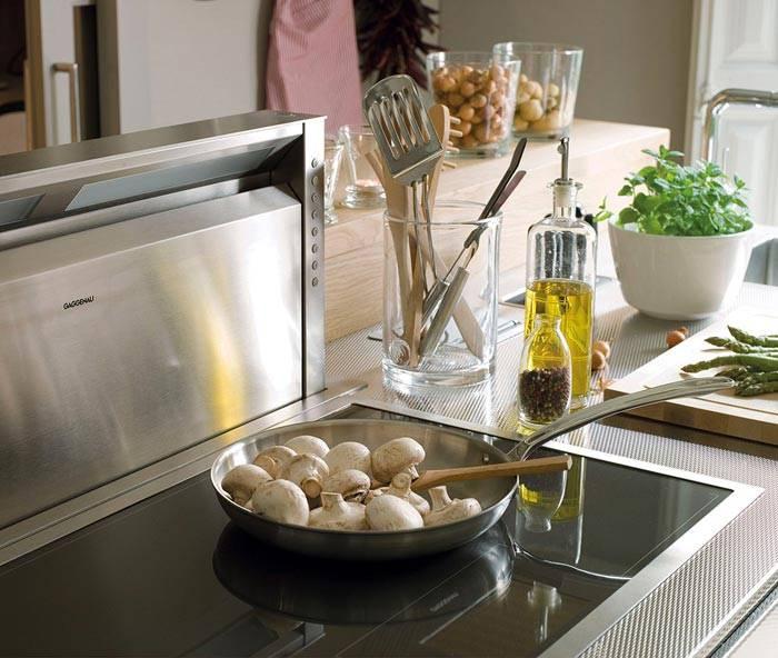 современные приспособления в интерьере кухни от дизайнера фото