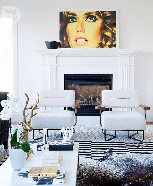 белый цвет в дизайне интерьера