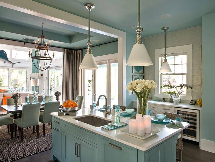 очень красивая кухня фото