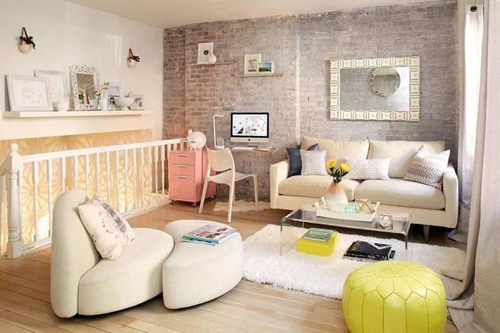 дизайн квартиры в стиле шебби шик