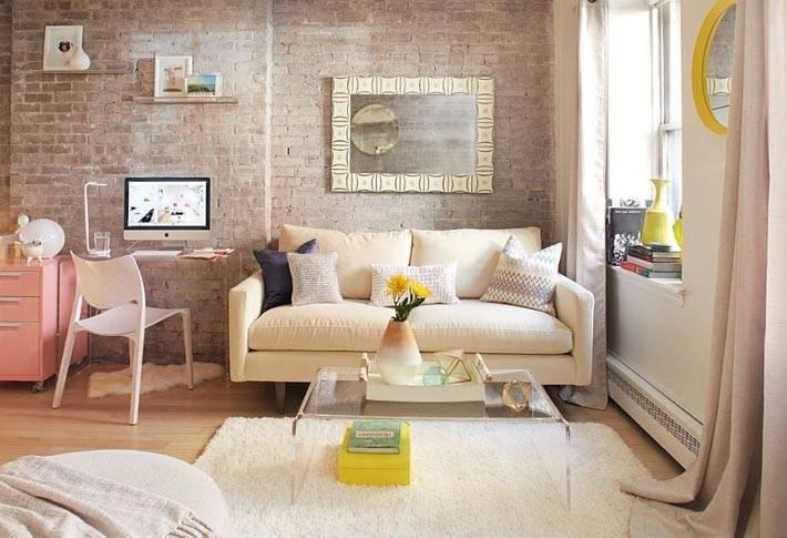 пастельный дизайн квартиры фото