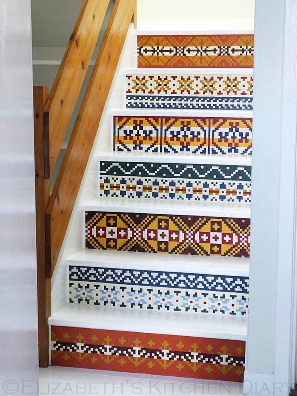 орнамент на лестнице фото