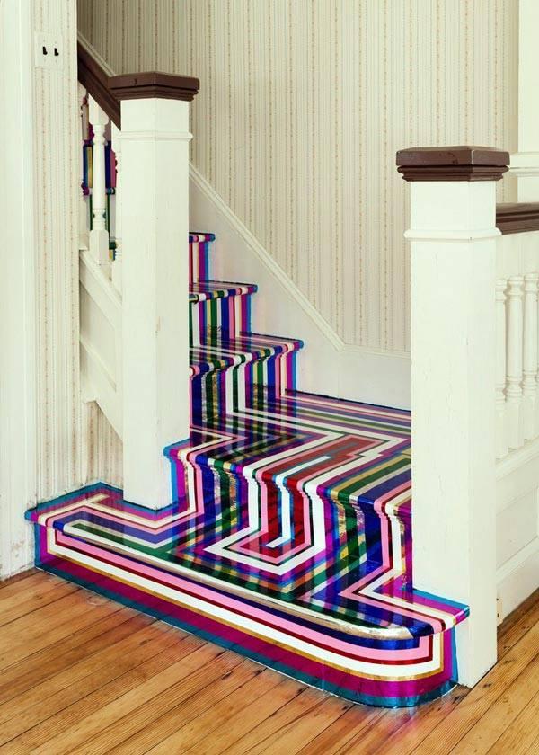 смелая идея для лестницы фото