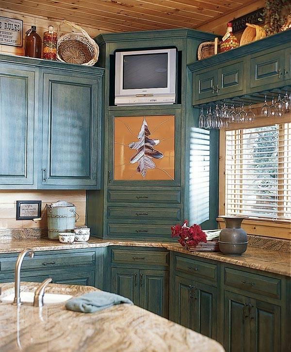 кухонный угловой шкаф фото