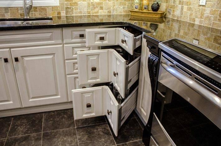 кухня — угловые ящики