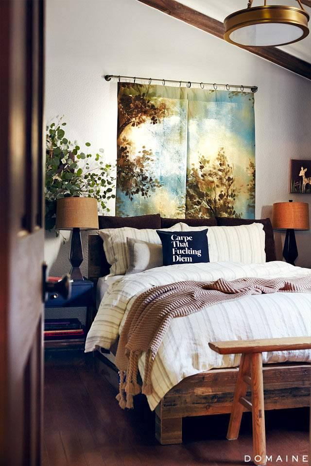 красивый интерьер спальни фото