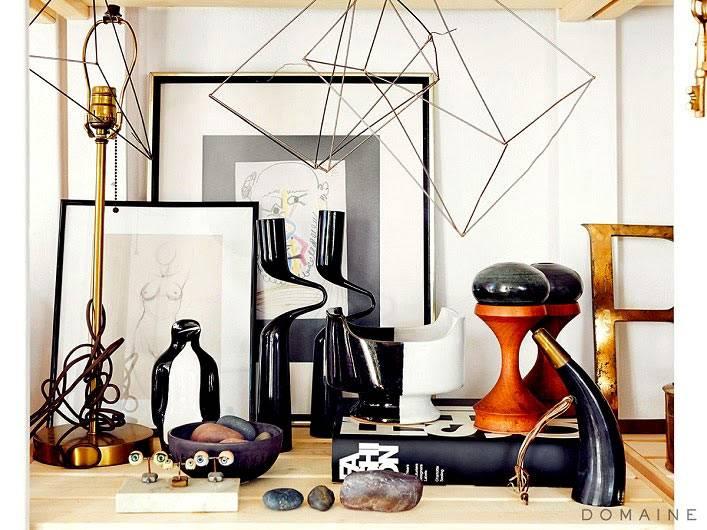 декор красивой студии известного дизайнера