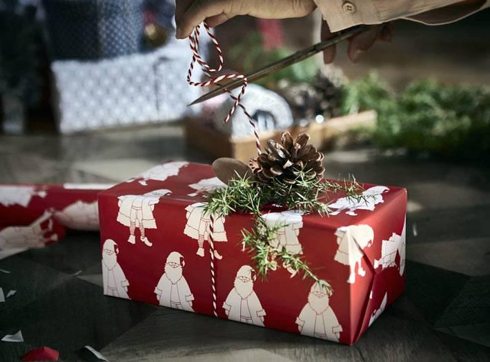 ИКЕА дарит новогодние подарки