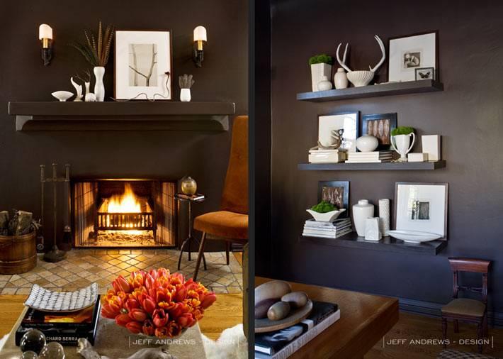 элементы декора в дизайне интерьера дома в Лос-Анджелесе