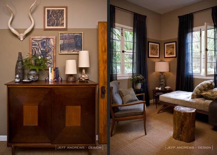 дизайн интерьера дома с природным декором