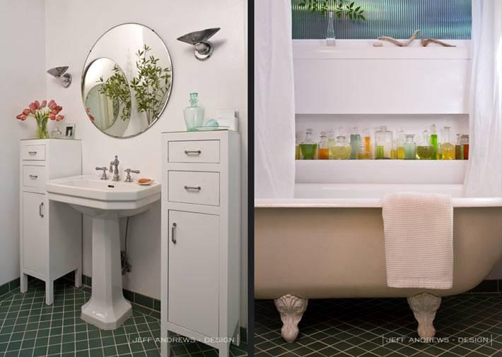 интерьер небольшой ванной фото