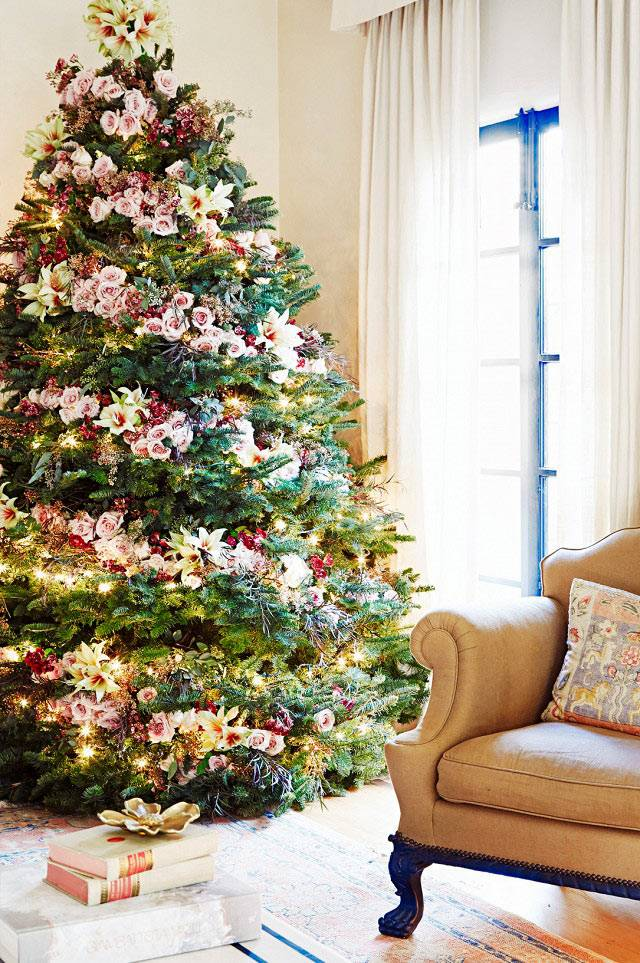 элегантный новогодний декор