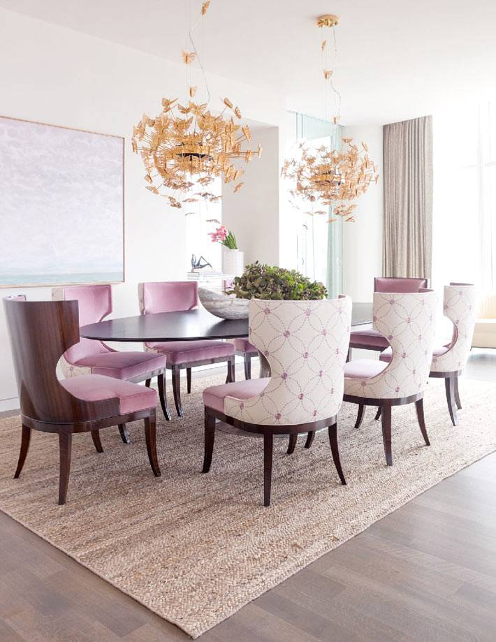 Dining room decoration pictures