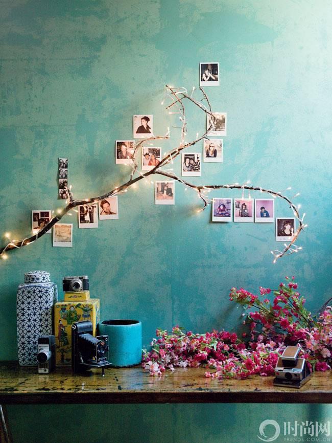 как креативно разместить фотографии в интерьере