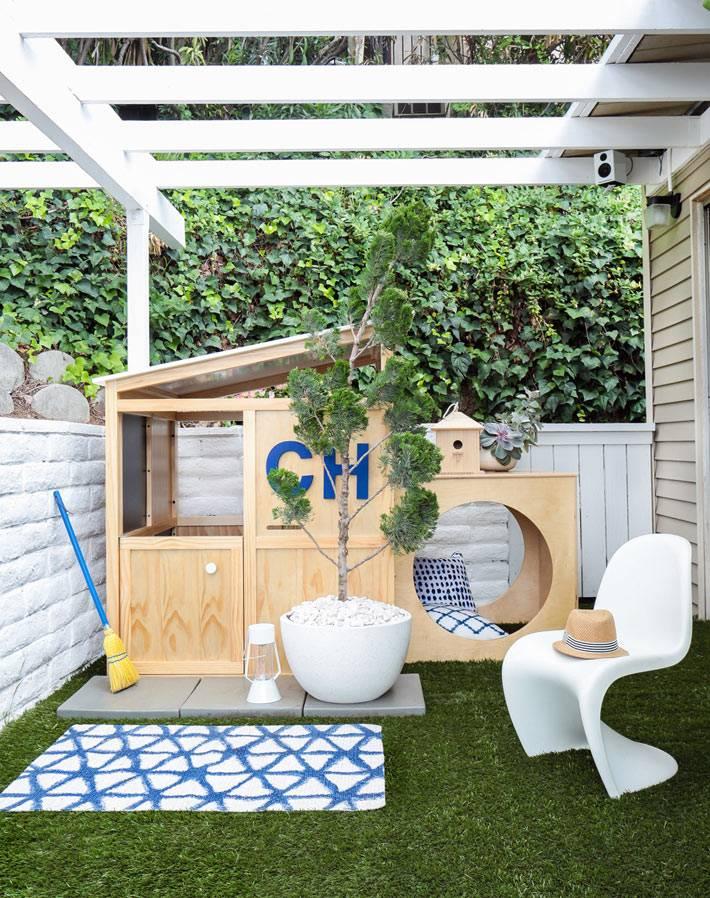 дизайн маленького двора фото