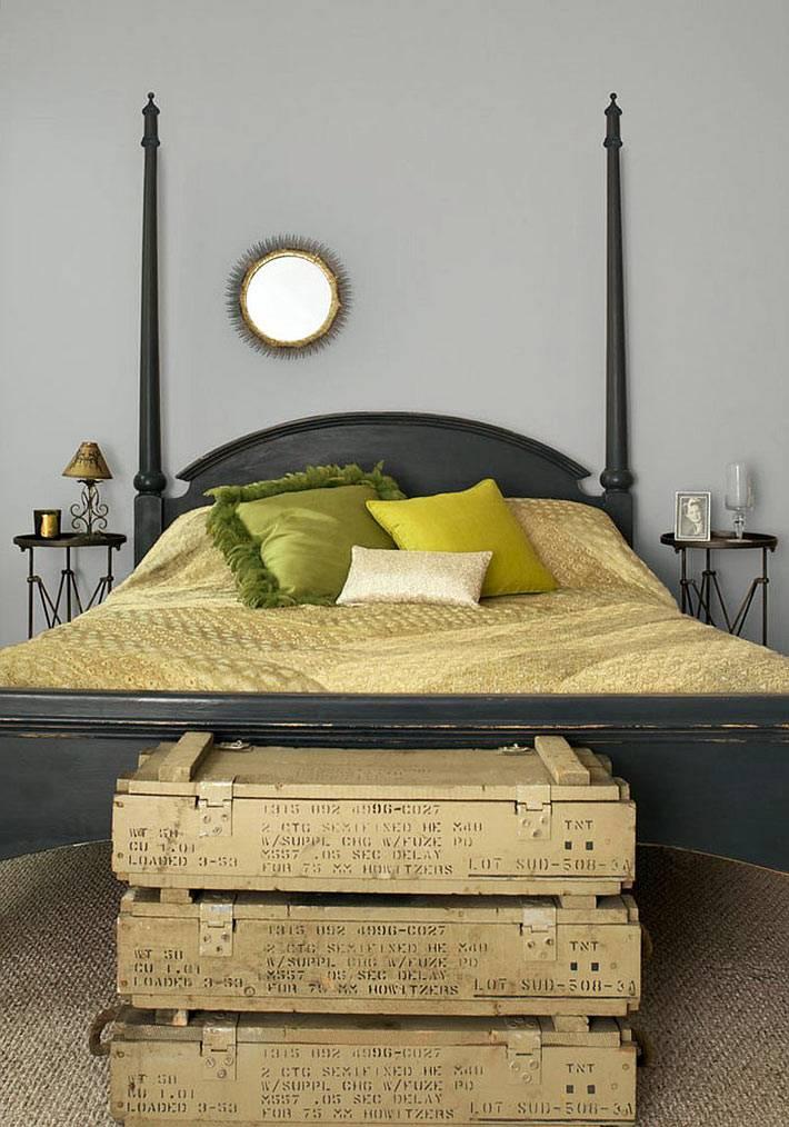 необычный дизайн спальни фото