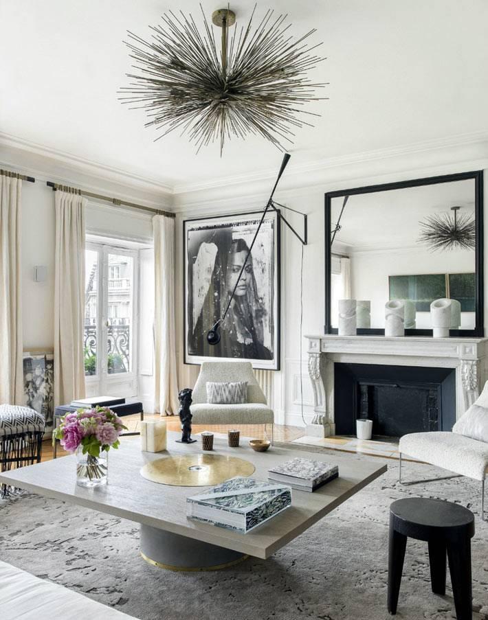 необычные элементы декора в дизайне интерьера квартиры