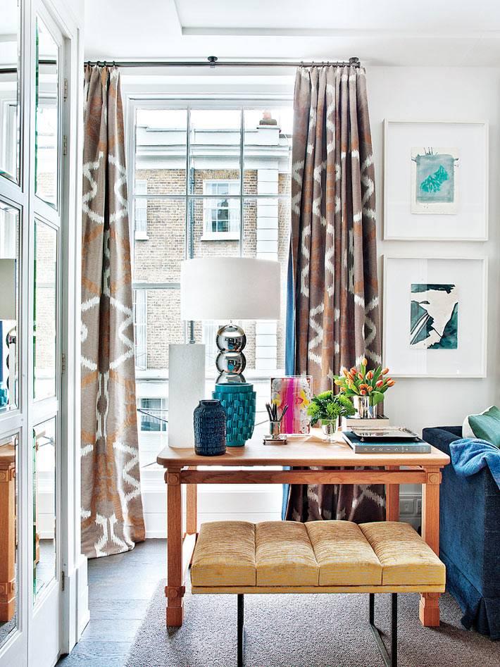 красивый дизайн интерьера квартиры