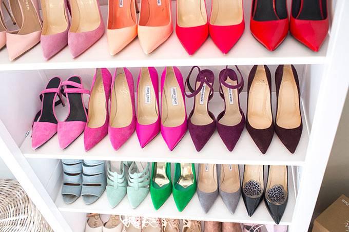 много красивой обуви фото