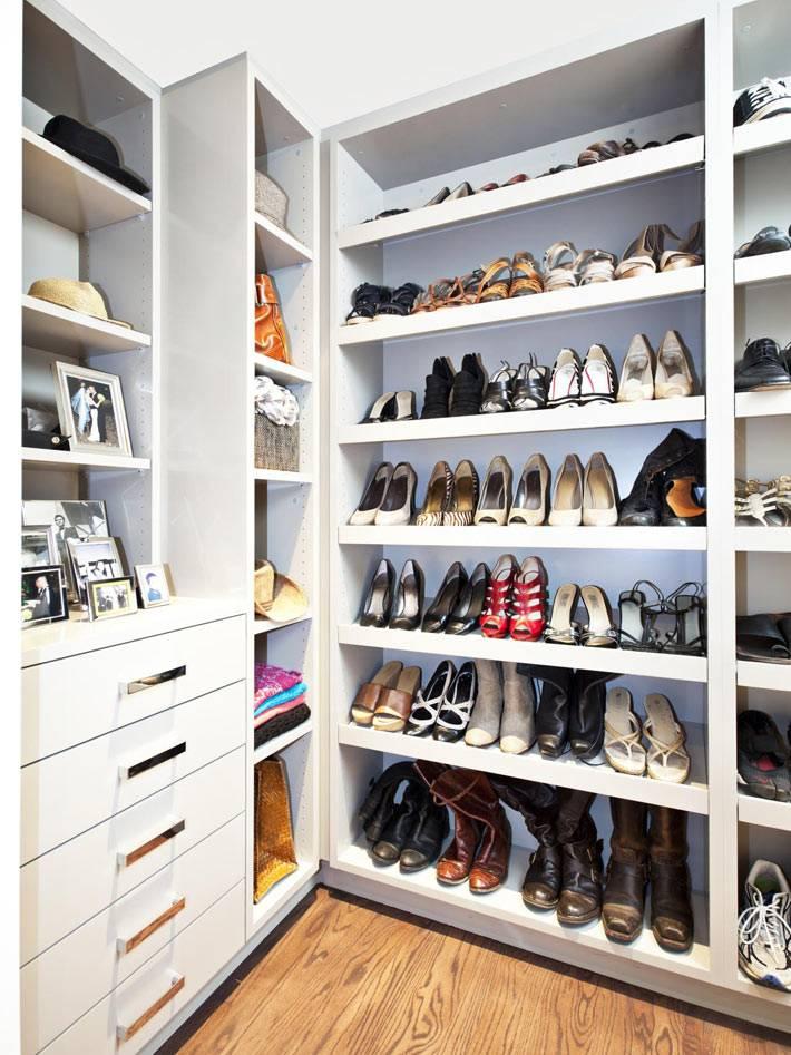 компактное хранение обуви в доме фото
