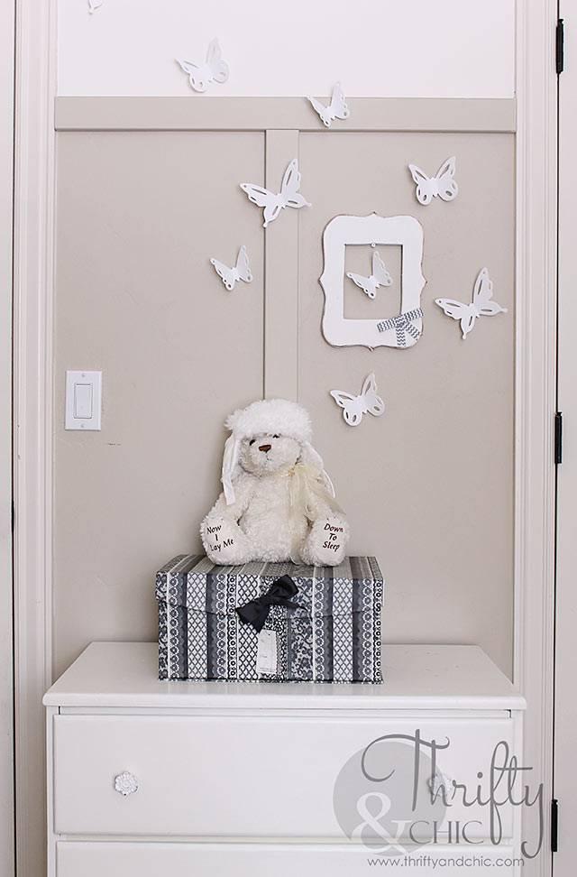 бабочки в интерьере - воздушный элемент декора фото