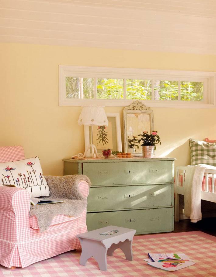 розовый цвет для игрового детского домика