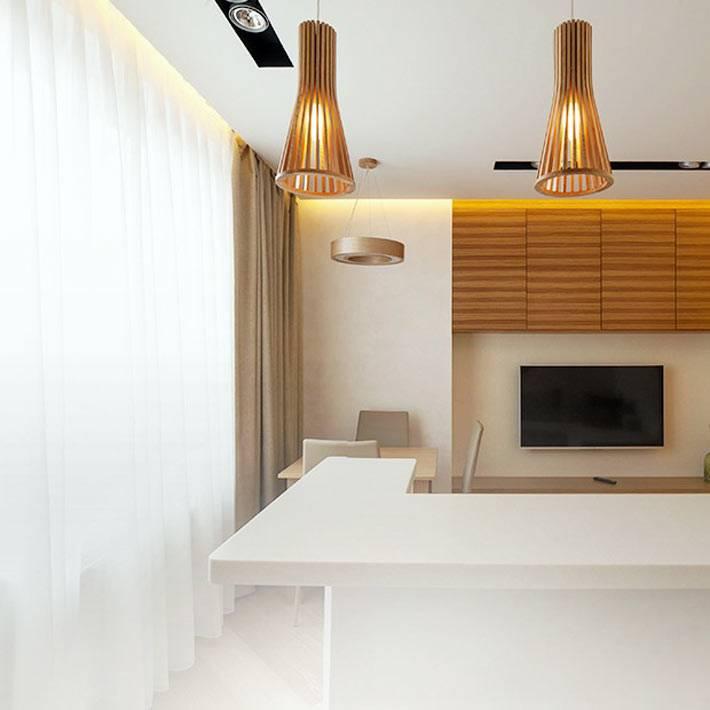 минимализм в однокомнатной квартире в питере фото