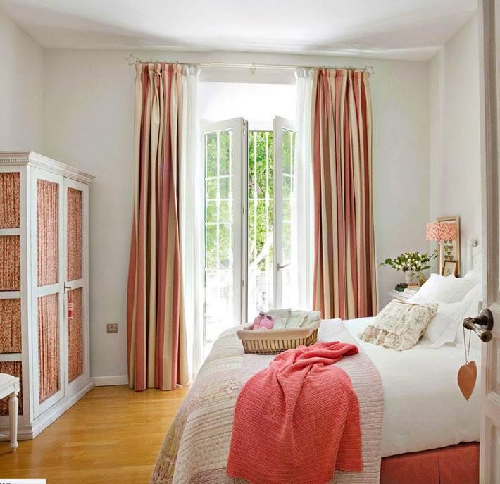 оформление спальни в романтическом стиле фото