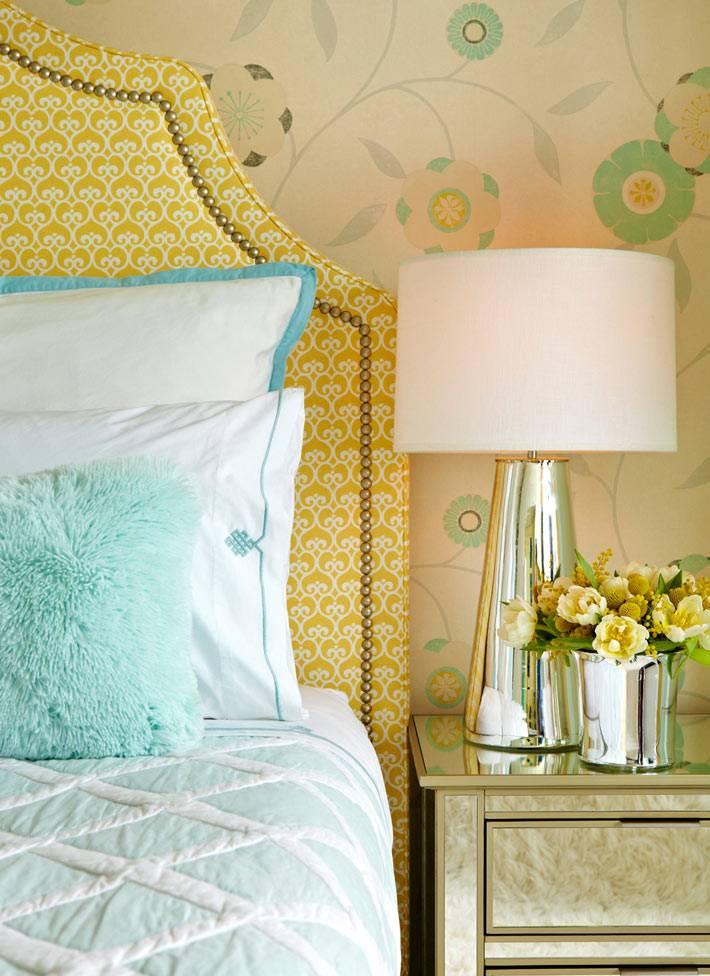 интерьер спальни от дизайнера