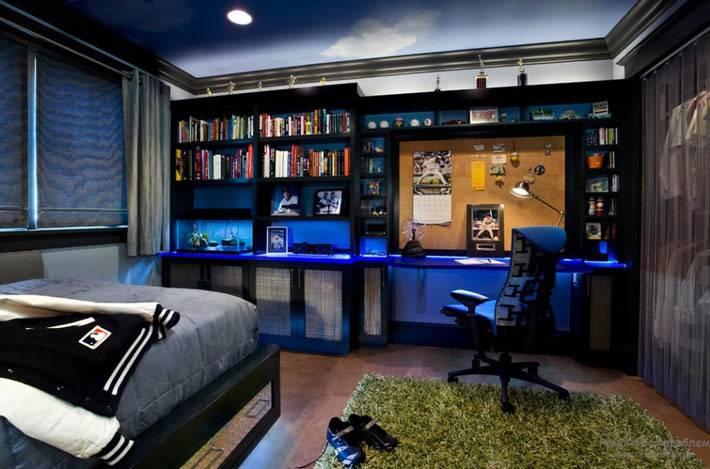 функциональный дизайн подростковой комнаты