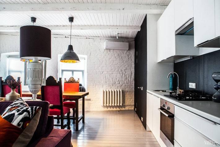 интерьер квартиры в москве в стиле лофт