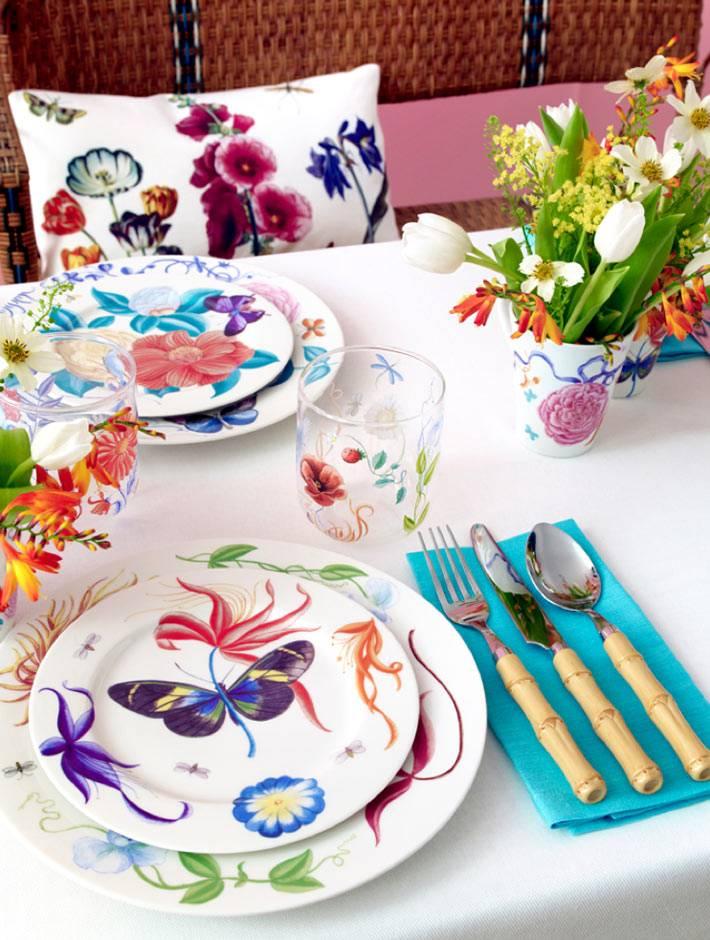 красивая посуда и текстиль зара хоум