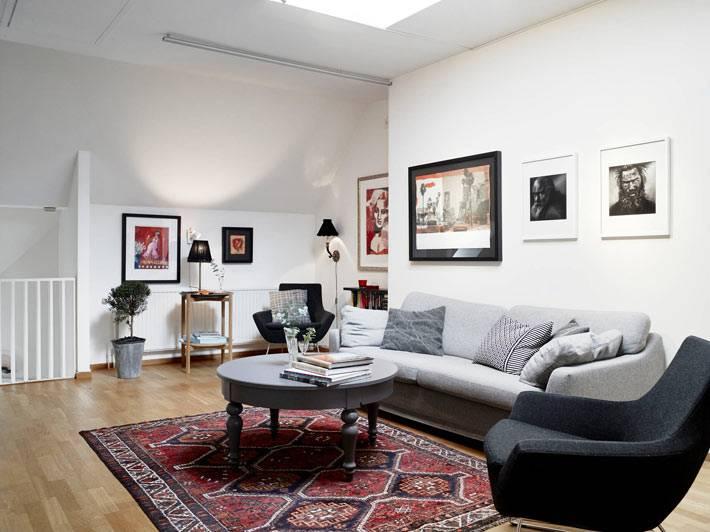 красивый интерьер гостиной комнаты